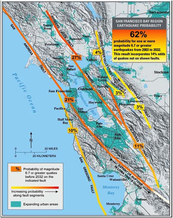 CA Fault Lines Map Submited Images